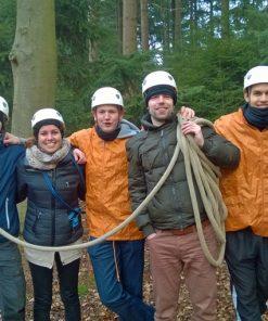 rope bridge building exercise team4teams